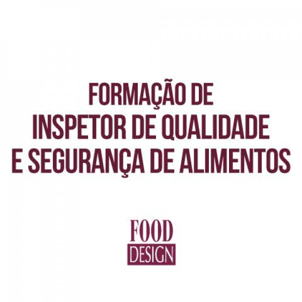 Formação de inspetor de qualidade e segurança de alimentos