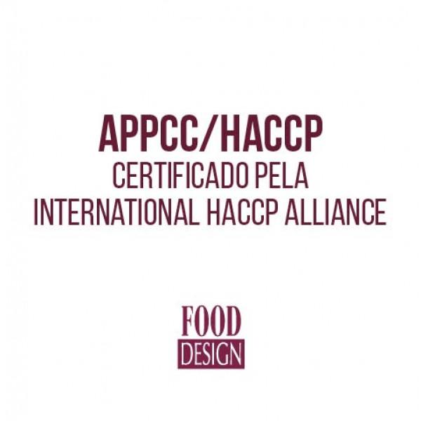 APPCC/HACCP - Certificado pela International HACCP Alliance