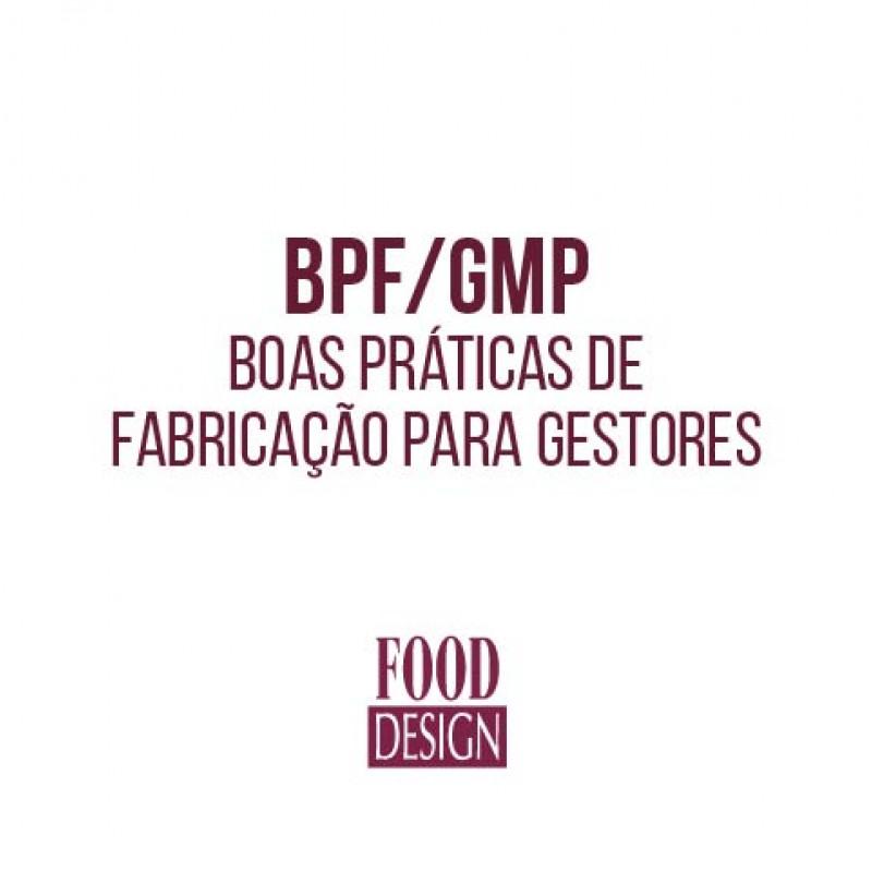 BPF/ GMP – Boas Práticas de Fabricação para Gestores