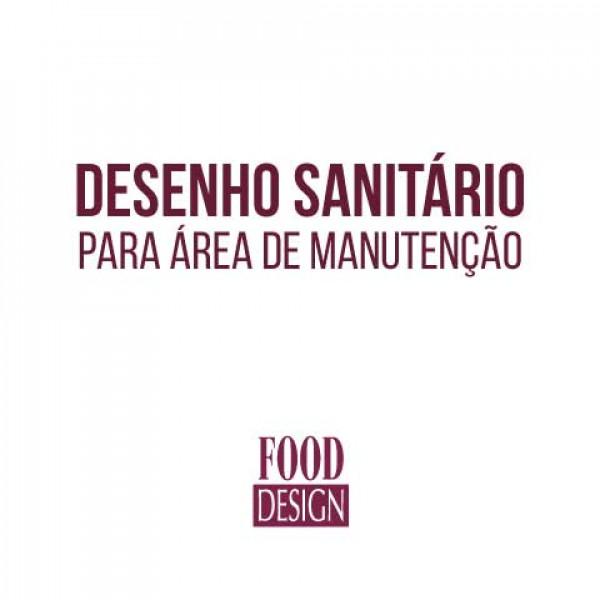 Desenho Sanitário para Área de Manutenção