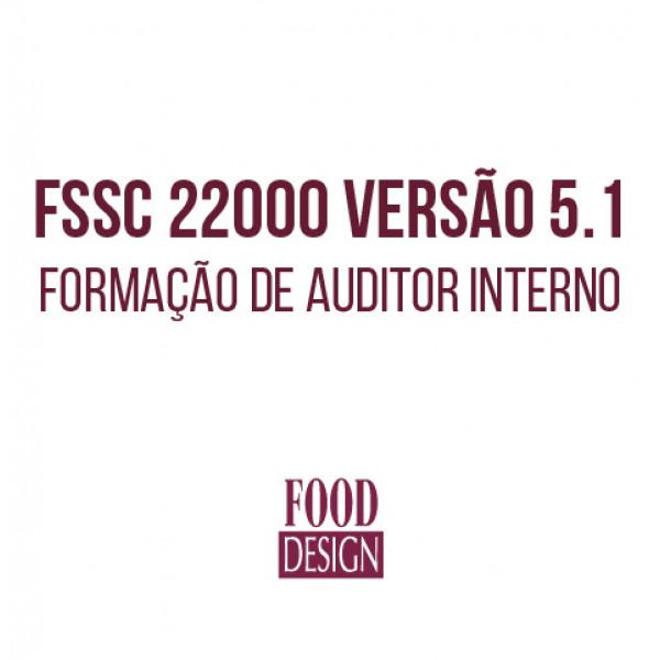 FSSC 22000 versão 5.1 - Formação de Auditor Interno