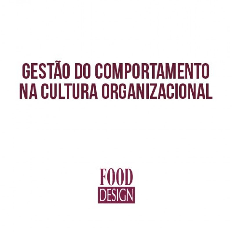 Gestão do Comportamento na Cultura Organizacional (NOTURNO)