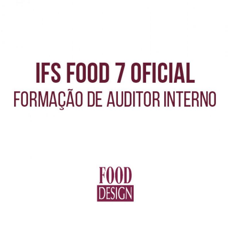 IFS Food 7 Oficial - Formação de Auditor Interno