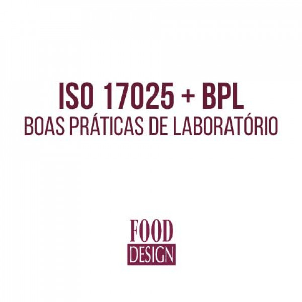 ISO 17025 + BPL - Boas Práticas de Laboratório (NOTURNO)