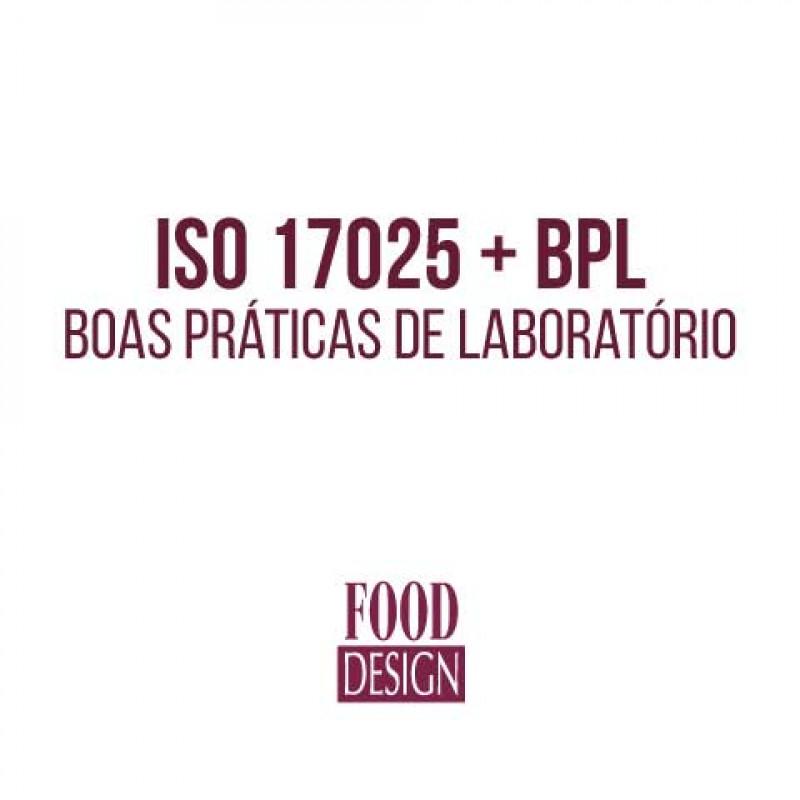 ISO 17025 + BPL - Boas Práticas de Laboratório