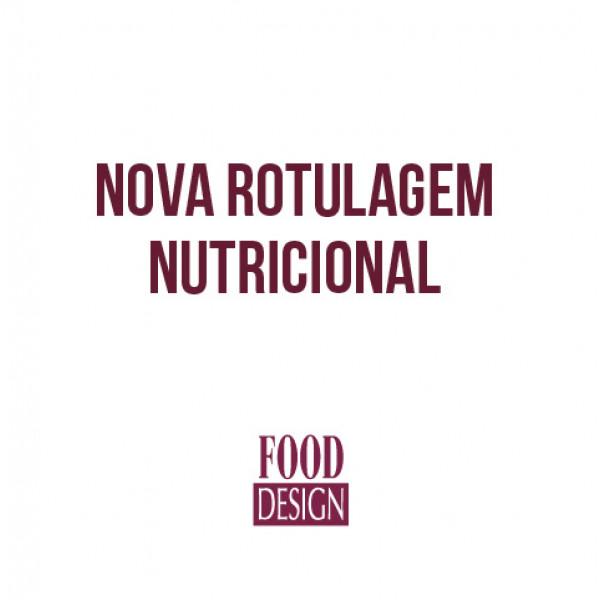 NOVA ROTULAGEM NUTRICIONAL
